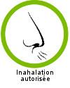 L'huile essentielle de citronnelle de Java est autorisée en inhalation