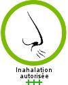 L'huile essentielle de ravintsara est recommandée +++ en inhalation