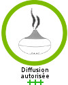 L'huile essentielle de ravintsara est recommandée +++ en diffusion
